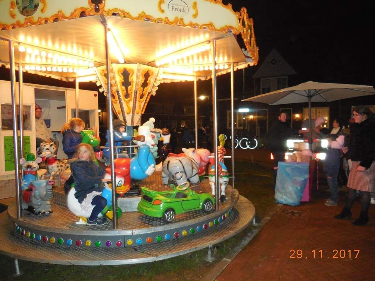 Draaimolen kerstmarkt